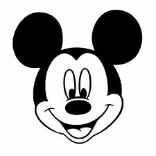 Mickey Mouse Stickers for Cars, Walls, Windows, Laptops