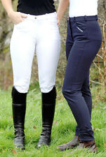 John Whitaker Clearance Sample Breeches - Navy, Self and Full Seat Versions