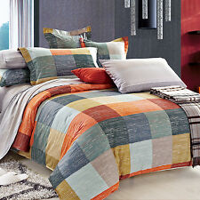 North Home - Meridian 100% Cotton 4pc Duvet Cover Set