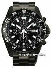 "ORIENT ""Captain"" Sporty Chronograph TT11001B TT11002B TT11003W TT11004B Watch"