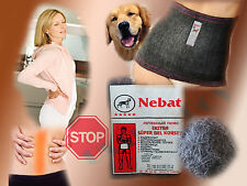 "Turkish ""Nebat"" dog wool healing warming supporting back belt /Sciatica & More/"