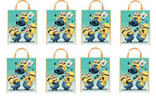 """DESPICABLE ME 2 ~ Plastic Birthday Party Favor Tote Bags 13""""x11""""  ~ You Pick ~"""