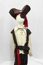 Boutique Pirate Scoundrel Complete Costume Costume Halloween NEW FREE SHIP