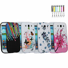 Beauty Pictorial Series Gel Silicone Soft Case Cover For Samsung Galaxy S3 i9300