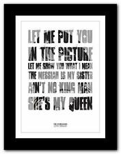 THE STONE ROSES Love Spreads ❤ lyric typography poster art print A1 A2 A3 or A4