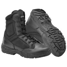 MAGNUM VIPER PRO 8.0 SIDE YKK ZIPPER MENS BOOTS SECURITY POLICE MILITARY BLACK