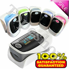 Accurate Home Fingertip Pulse Oximeter, Blood Oxygen,PR,SPO2 monitor+Alarm set