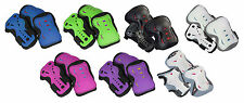 SFR Triple Pad Kids Protection Set For Scooters, Skateboards, Inline & Roller Sk