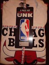 NBA CHICAGO BULLS BOY'S 2 PC PAJAMAS SET NEW