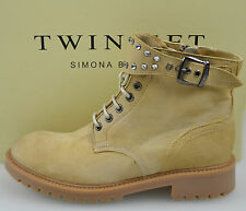 TWIN-SET STIVALE/ANFIBIO A CAVIGLIA DONNA-WOMAN ANKLE BOOTS N. 37-39 S3/C/CPS3QB