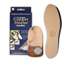 The Original Copper Heeler Insoles for Arthritis,Rheumatism & Joint Aches Pains