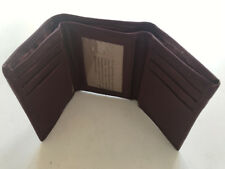 Wholesale Mens Genuine Leather Wallet Bifold Trifold Credit card ID case holder