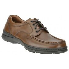 ***SALE*** CLARKS 'Line Day' Men's Brown Lace Up Shoes. H Fit. With Cushion Cell