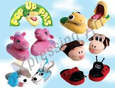 Pop Up Pals child kid Slippers comparable to Stompeez as seen on TV