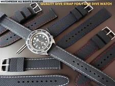 VERY GOOD QUALITY STRONG REPLACEMENT RUBBER DIVE STRAP FOR YOUR TISSOT DIVE