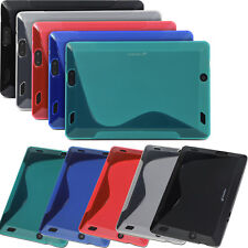 "New S Wave Soft TPU Gel Case Cover for Amazon Kindle Fire HD 7 7"" 2nd Gen 2013"