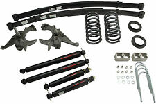 Belltech 82-04 S10/S15 Pickup Ext Cab 4/5 Drop w/ND2 Shocks Lowering Kit 619ND