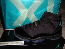 NIKE AIR JORDAN XI 11 GAMMA BLACK BLUE UK 14 13 12 10 9 8 7 6 2013 RETRO BRED