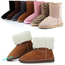 Fashion Women Girls Ladys Winter Warm comfortable Snow Boots Shoes us size4.5-8