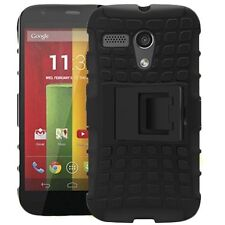Motorola Moto G Google Heavy Duty Rugged Case Hybrid Armor With Stand Cover