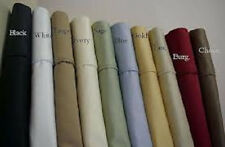 Sale 1000TC Soft 2PC Pillow case/Sham Solid 100%Egypt Cotton Choose Size & Color