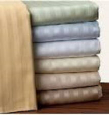 "1000TC 1PC Fitted sheet 21""Deep Pocket 100%Egyptian Cotton Choose Size & Color"