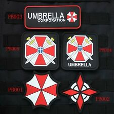 Resident Evil Umbrella Corporation U.S.S UBCS Chest Tape 3D PVC Velcro Patch