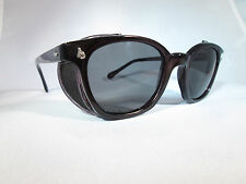 AO American Optical Sfty Frame BLK/GRY /Shld All Size NEW Sunglasses Hipster