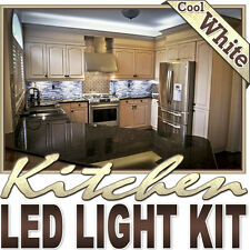 Kitchen Counter Cabinet LED Lighting Strip + Dimmer + Remote + Wall Plug 110V