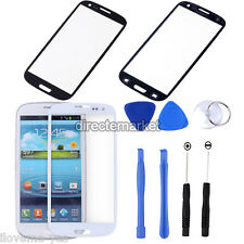 New Front Screen Glass Lens Outer Replacement for Samsung Galaxy S3 i9300 + Tool