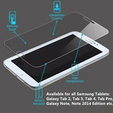 Tempered Glass Screen Protector for Samsung Galaxy Note,Tab Pro,Tab S,Tab4/3/2