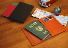Travelus V4- No Skimming e-Passport Cover Wallet Holder-Faux Leather-Pocket Type