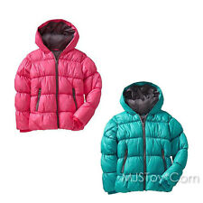 NWT Old Navy Girl Frost-Free Quilted Jacket Hooded Winter Puffer Coat XS/S/M/L