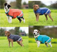 NEW Shires Waterproof Breathable Coloured or Fluorescent Yellow Dog Coat / Rug