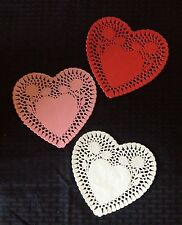 """10"""" Paper Heart Doilies: Scrapbooking, Valentines Decorations,Card Making,Crafts"""