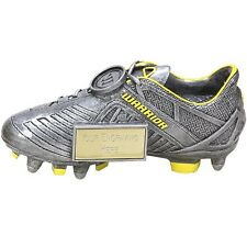 Football Trophies Resin Warrior Football Boot 3 Sizes Available FREE Engraving