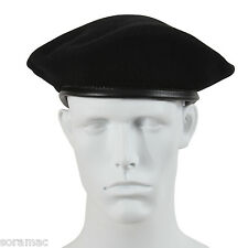 Garrison Military Beret Black - 100% Authentic Military New!! All Sizes!!