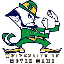 University of Notre Dame Fightin Irish 3 sizes Quilting Fabric Block