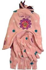 Girls In The Night Garden Upsy Daisy Polyester Fleece Hat Scarf Glove Set Pink