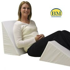 MULTI WAY BED WEDGE BACK OR LEG SUPPORT MATTRESS TILTER DISABILITY AIDS.