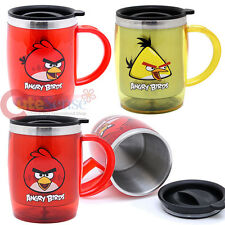 Rovio Angry Birds Tumbler Coffee Mug  Stainless Grip Handle (3 Style) Licensed