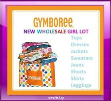NWT GYMBOREE WHOLESALE GIRL CLOTHING LOT RV $300+ Size 12-24M, 2T 3T 4T 5T