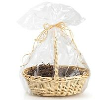 "*YOU CHOOSE QTY!* 30""x24"" Crystal Clear Large GIFT BASKET BAGS Cello Drop-In"