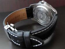 QUALITY THICK REPLACEMENT DEPLOYMENT LEATHER STRAP TO FIT YOUR FORTIS WATCH