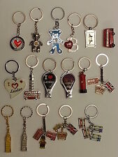 Union Jack Keyrings, I love London Key Chain, Uk Flag England, Bus key souvenirs