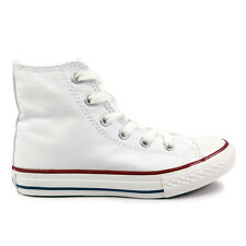 Youths Converse Optical White Chuck Taylor All Star Hi Trainers