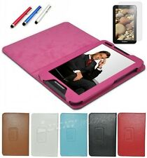 3in1 Stand Cover Case Leather Folio for Lenovo IdeaTab 7inch A1000 Tablet+P+F