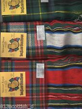 Tartan Sash Stewart Ladies Scottish Plaid Ships free in US