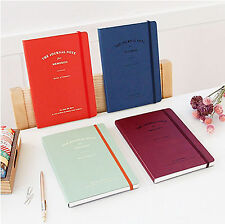 Brand New Iconic Journal Note for Memories Organizers planner_Synthetic Leather