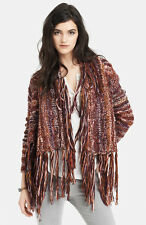NWT Free People Birkenstock Rock Fringe Cardigan